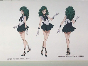 Sailor Moon Crystal - concept sheets
