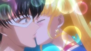 Sailor Moon and Tuxedo Kamen