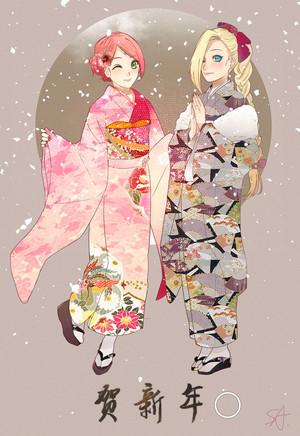 Sakura x Ino // Naruto