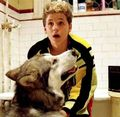 Sam and Nanook - the-lost-boys-movie photo
