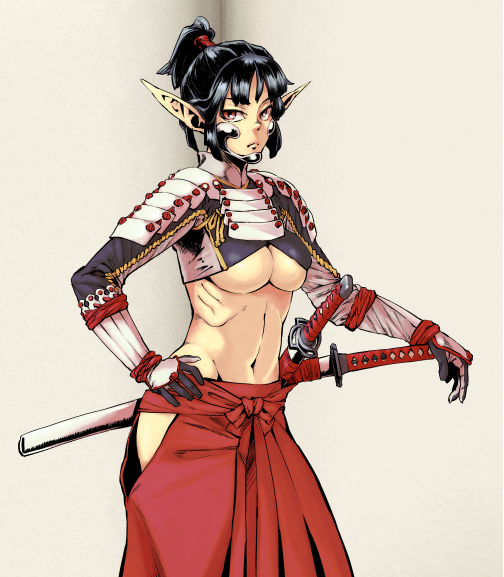 Samurai Elf