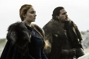 Sansa Stark and Jon Snow