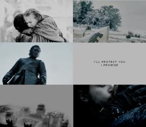 Sansa and Jon Snow