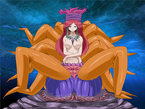 Monster Girl Quest Обои containing Аниме entitled Sea Anenome Girl