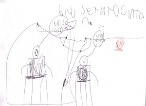 Seths picture of Stampy Cat and Ballistic Squid