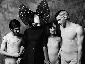 Sia and her dancers