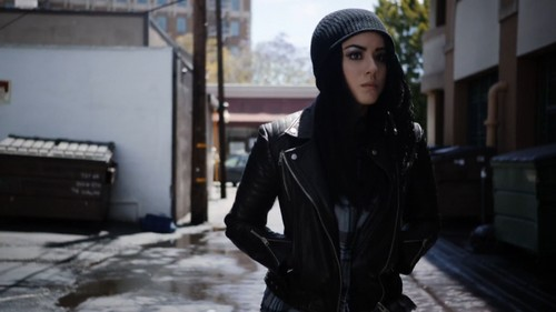 """Skye (Agents Of S.H.I.E.L.D) 바탕화면 probably with a street, an outerwear, and a business suit entitled Skye in """"Absolution/Ascension"""""""