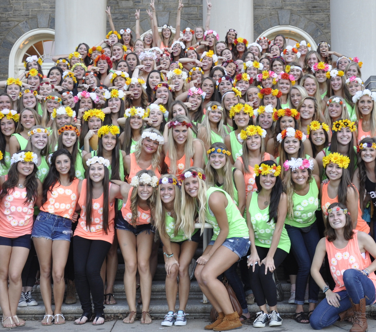 "sororities Sororities the department of fraternity and sorority life recognizes undergraduate general or ""social"" sororities who engage in a broad spectrum of leadership."