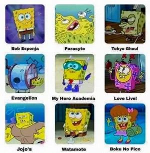 Spongebob Comparison Charts