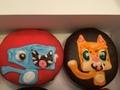Stampy and Squid for CRAZYCATZ' birthday! - stampylongnose photo