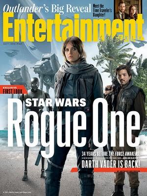 तारा, स्टार Wars Rogue One - EW Magazine Cover