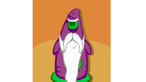 Steam Trading Card: Purple Tentacle