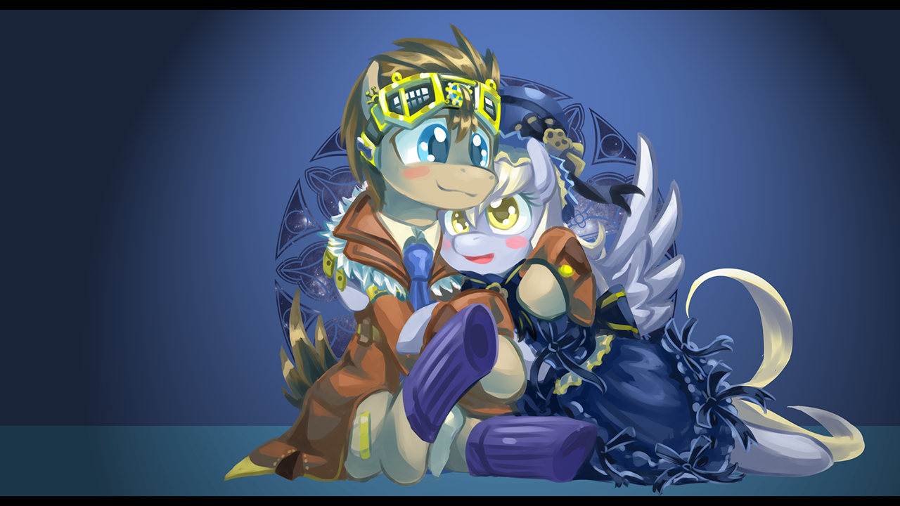 Derpy Hooves X Doctor Whooves Images Steampunk Derpy And Doctor
