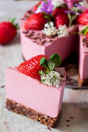 স্ট্রবেরি Cheesecake