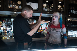 Suicide Squad - Behind the Scenes - David Ayer and Margot Robbie
