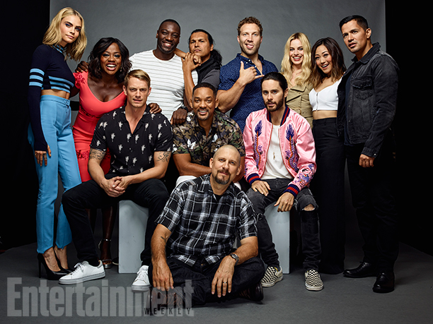 Suicide Squad Cast @ Comic-Con 2016