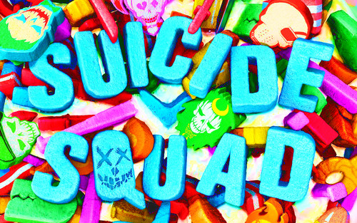 Suicide Squad fondo de pantalla possibly with a gumdrop, a candy, and a hard dulces called Suicide Squad - Cereal Killer fondo de pantalla