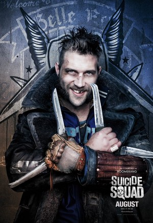 Suicide Squad Character Poster - Captain Boomerang