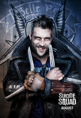 Suicide Squad wallpaper called Suicide Squad Character Poster - Captain Boomerang