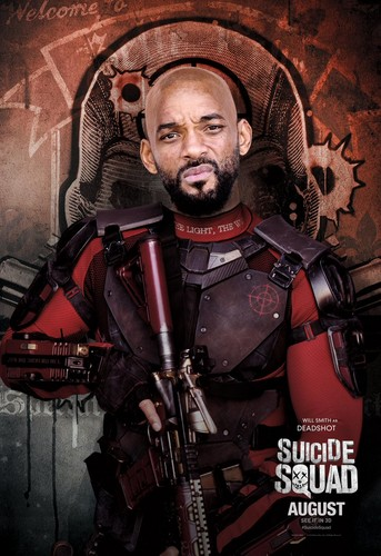 Suicide Squad 바탕화면 probably with a 라이플 총병, 라이플 맨, 라이플 총 병 and a green 베레모, 베 레모 called Suicide Squad Character Poster - Deadshot