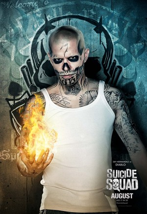 Suicide Squad Character Poster - Diablo