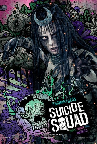 Suicide Squad fondo de pantalla containing anime called Suicide Squad Character Poster - Enchantress