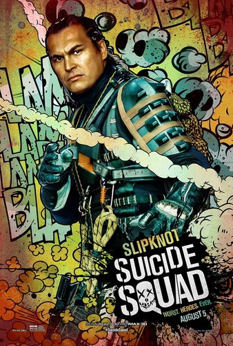 Suicide Squad वॉलपेपर containing ऐनीमे titled Suicide Squad Character Poster - Slipknot
