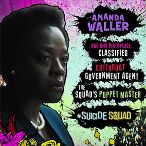 Suicide Squad Character پروفائل - Amanda Waller