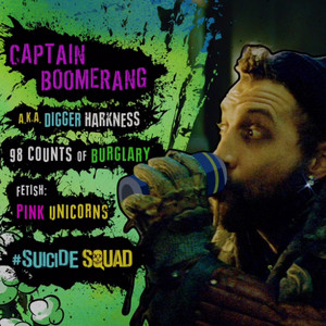 Suicide Squad Character 프로필 - Captain Boomerang