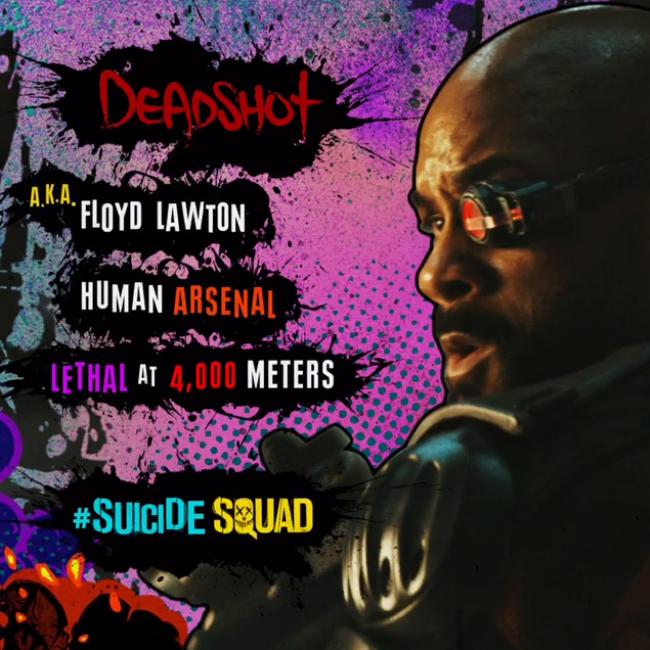 Suicide Squad Character 프로필 - Deadshot