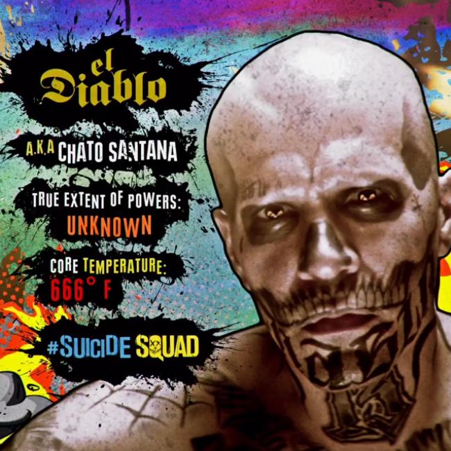 Suicide Squad Character profil - El Diablo