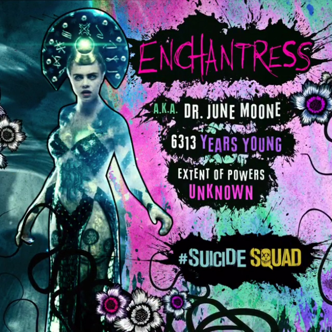 Suicide Squad Character 프로필 - Enchantress