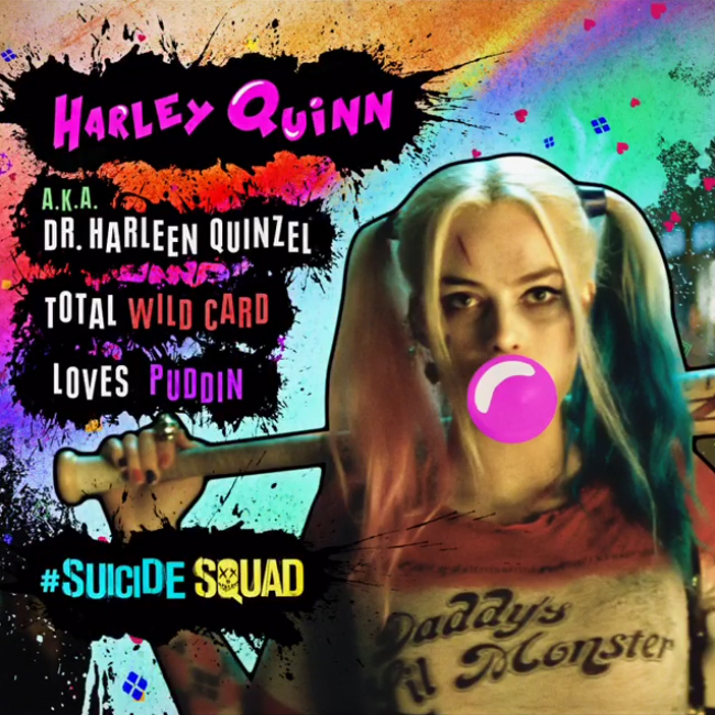Suicide Squad Character profilo - Harley Quinn