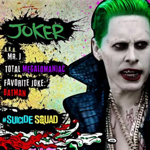 Suicide Squad Character profaili - Joker