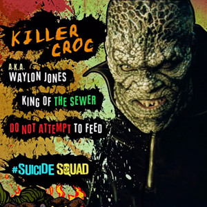 Suicide Squad Character پروفائل - Killer Croc