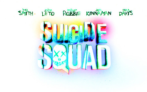 Suicide Squad wallpaper probably containing a string cheese called Suicide Squad Logo wallpaper