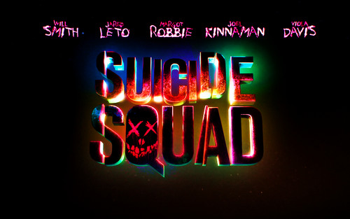 Suicide Squad wallpaper probably with a sign and a molteplice, cinema multisala called Suicide Squad Logo wallpaper