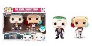 Suicide Squad Pop Vinyl- Harley Quinn and The Joker