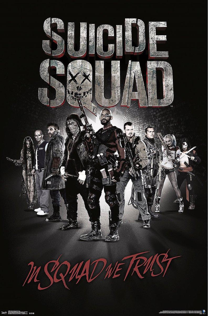 Suicide Squad Poster - In Squad We Trust