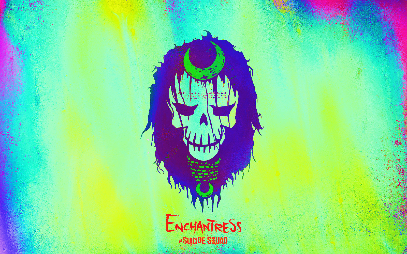 Suicide Squad Skull wallpaper - Enchantress