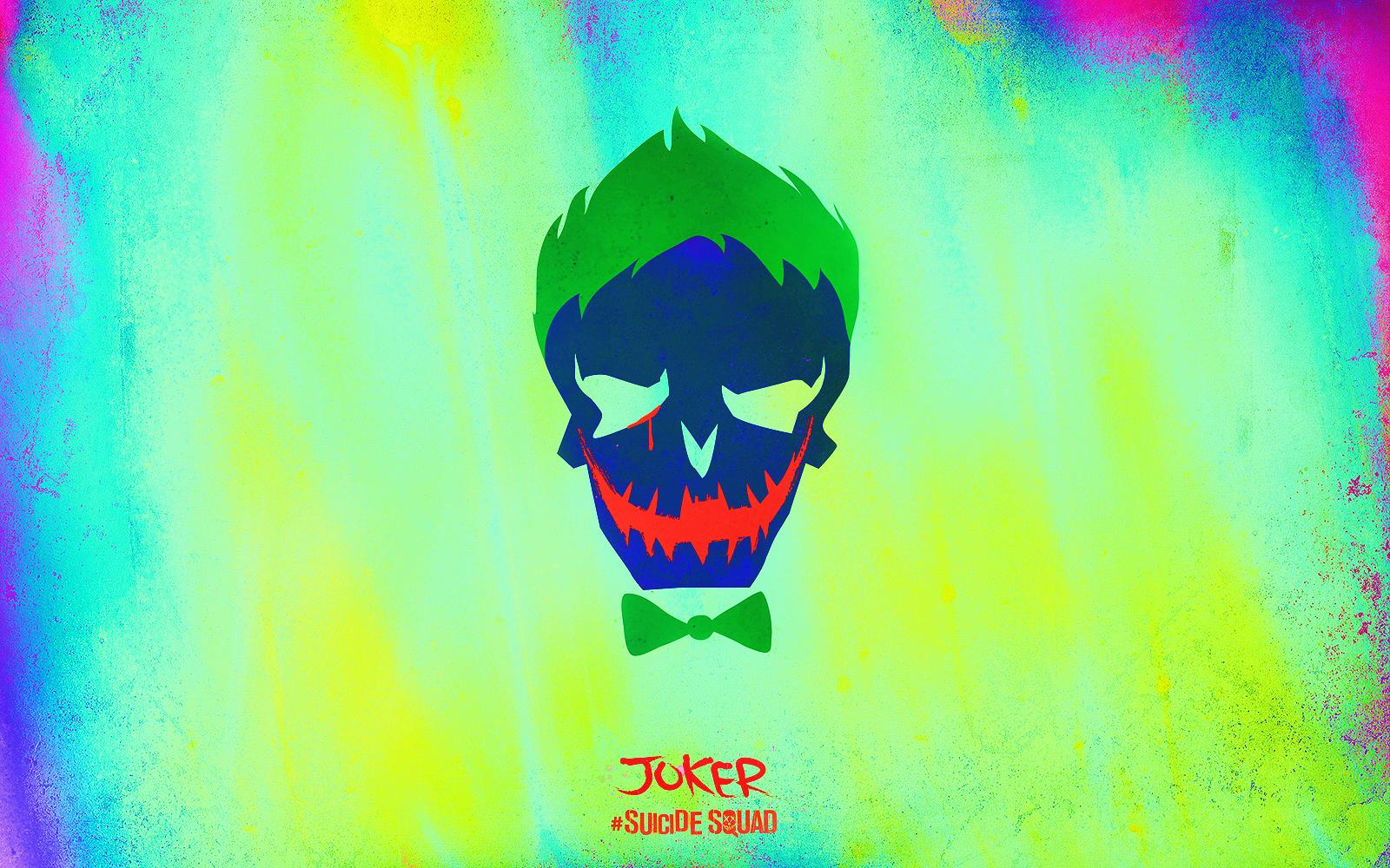 Suicide Squad Skull achtergrond - Joker