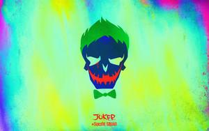 Suicide Squad Skull দেওয়ালপত্র - Joker
