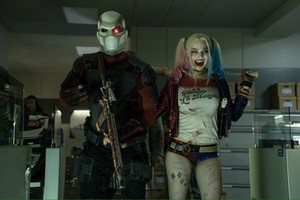 Suicide Squad Still - Deadshot and Harley