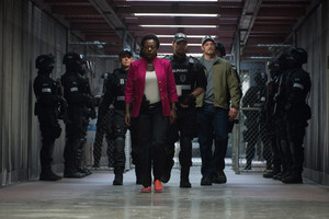 Suicide Squad Stills - Amanda Waller and Rick Flag
