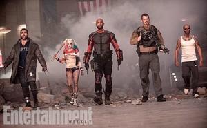 Suicide Squad Stills - Boomerang, Harley, Deadshot, Rick Flag and Diablo