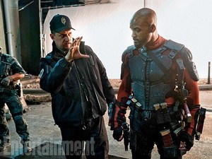 Suicide Squad Stills - David Ayer and Will Smith behind the scenes