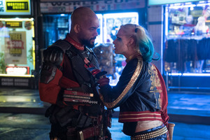 Suicide Squad Stills - Deadshot and Harley Quinn