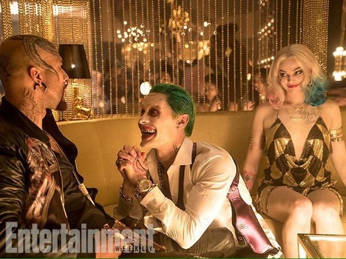 Suicide Squad fondo de pantalla probably containing a portrait entitled Suicide Squad Stills - Monster T, The Joker and Harley