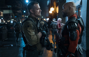 Suicide Squad Stills - Rick Flag and Deadshot