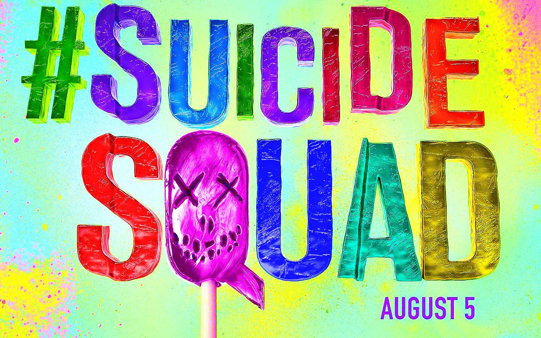 Suicide Squad - Sucker karatasi la kupamba ukuta